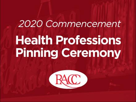 Health Professions Pinning Ceremony
